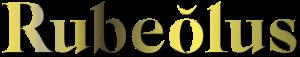 Logo Rubeolus di Ermes Botanica - ribolla gialla spumante Brut